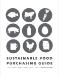sustainable food purchasing guide cover